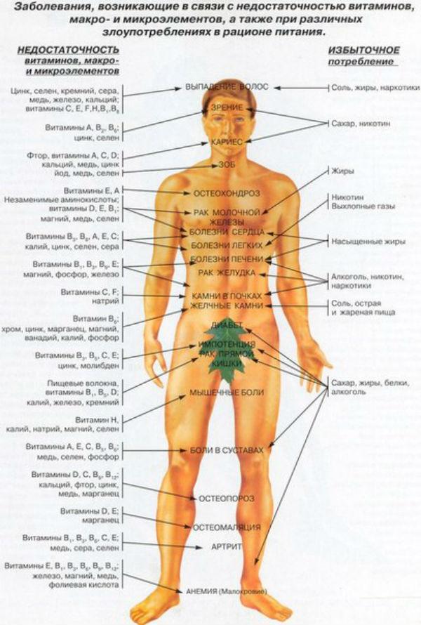Какие витамины пить мужчине