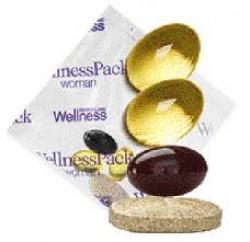 В упаковке витамины, минералы, рыбий жир и антиоксидант