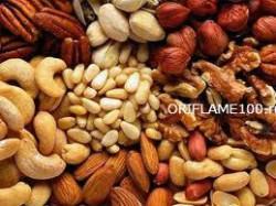 Орехи - источник витаминов группы В