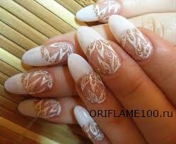 Как правильно красить наращанные ногти лаком