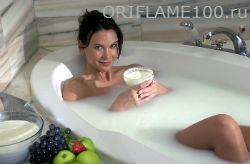 Ванная с молоком