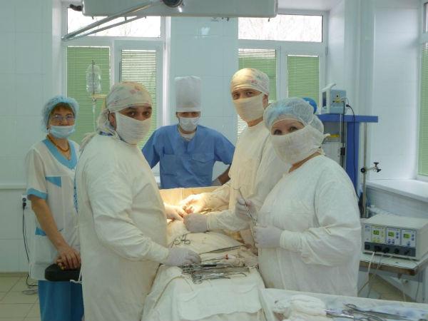 Работа медсестры хирургического отделения