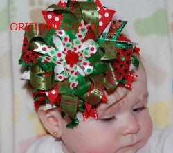 Новогодняя  прическа   для девочек с короткими волосами