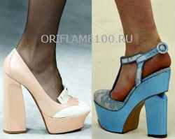 Модная обувь  весна лето 2013