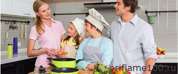 Акция Орифлейм «Рецепт семейного счастья»
