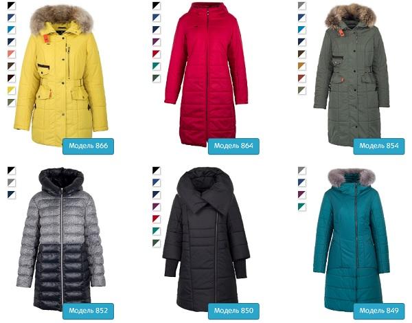 выбор зимних курток для женщины
